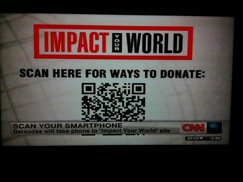CNN QRcode stupidity