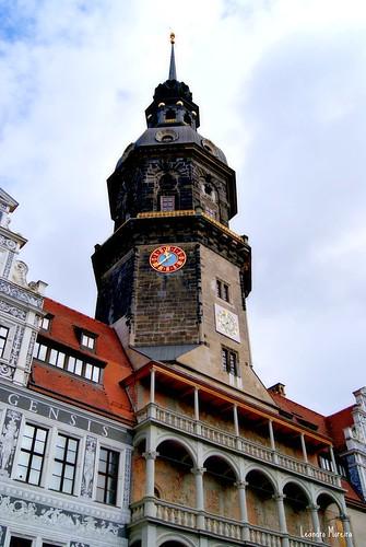 A Torre do Residenzschloss: subida obrigatória