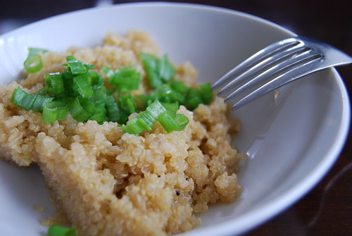 Soy Ginger Quinoa