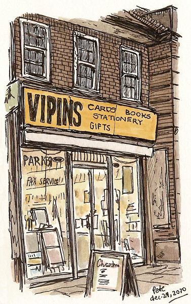 vipins, burnt oak