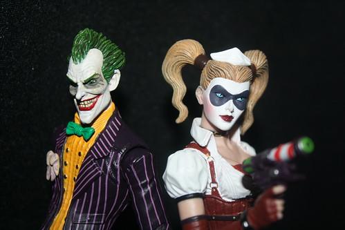 Arkham Asylum- Joker & Harley Quinn