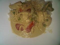 Green curry, chicken - Thai Garden Catford