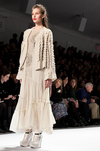 New York Fashion Week Fall 2011 - Nanette Lapore 2