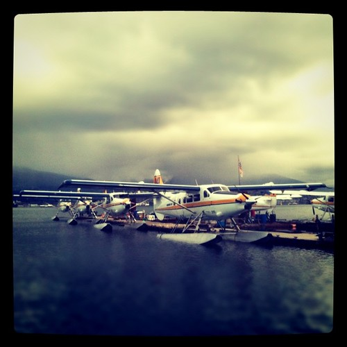 Harbour Air Sea Plane - Instagram by timbarton