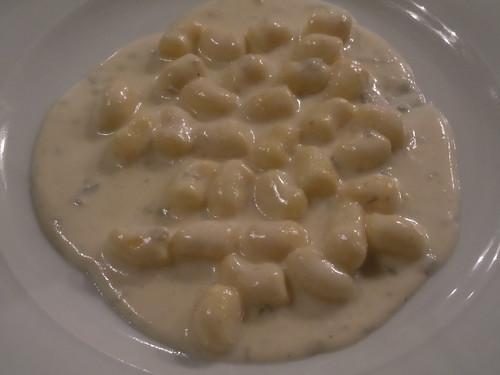 Osteria Da Alberto quatro formaggio gnocchi