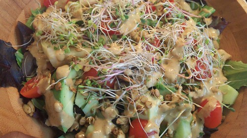 Spring Salad with Sprouts