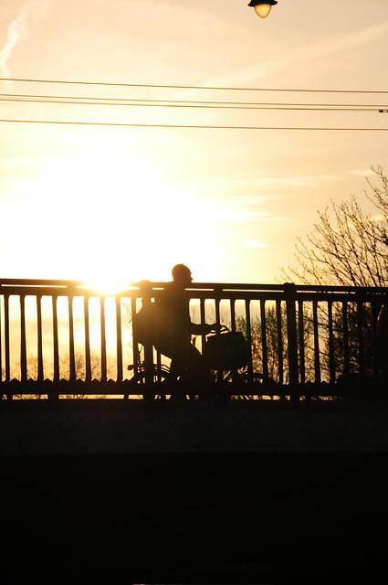 Ciclista al Sol