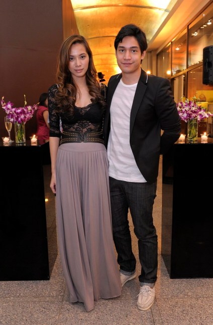 Divine Lee and Victor Basa