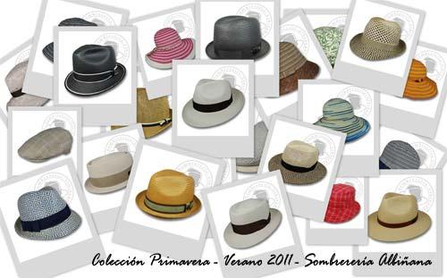 sombreros de primavera-verano 2011