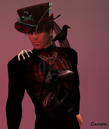 LNL  RAVEN GOTHIC LINE LONGSLEEVE  OUTFIT