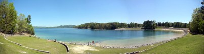 Lake Jocassee Panorama