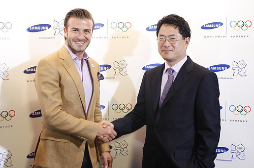 David Beckham for Samsung in London Olympics 2012