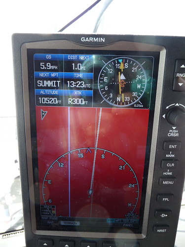 1.0 mile out, per our GPS