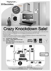 Electrolux warehouse sales 2011