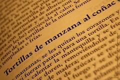 """Receta original de """"Tortillas de manzana al coñac"""""""