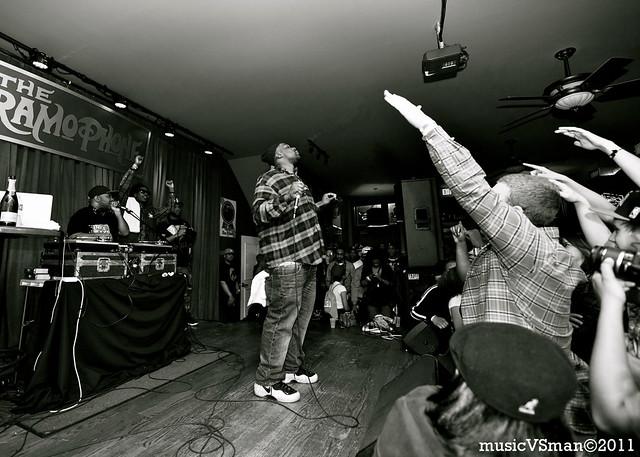 Smoke DZA @ The Gramophone - 04.06.11