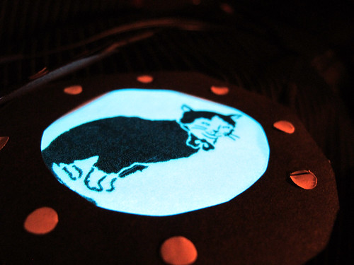 Electroluminescent panel portholes