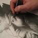 Vinz dessinant Noudh