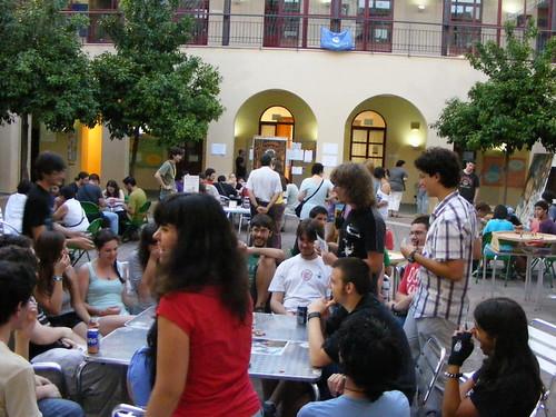 Instantánea de la La Noche Más Corta Más Larga de Juegos 2011 en Córdoba. Foto de JT