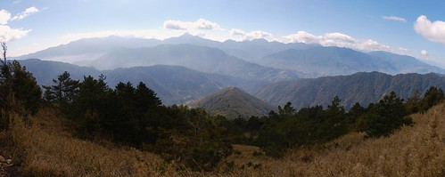 The Central Mountain Range shot from Snow Mountain East Trail