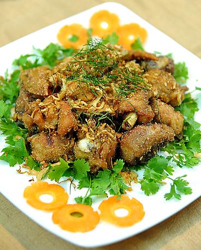 Gà rang muối by Craft & Photo
