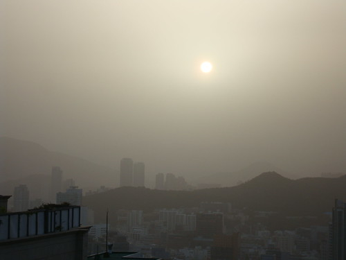 Yellow Dust in Busan