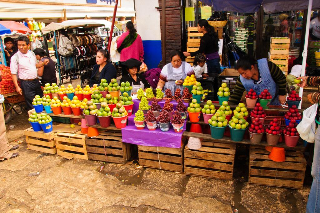 Fruit stall, San Cristobal market