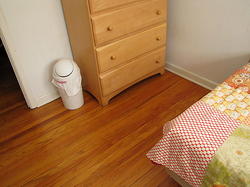 Project Simplify week 3 - In front of their dresser after
