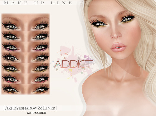 "-[AddiCt]-Aki Eyeshadow & Liner for ""Another Fundraiser II"""