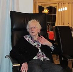 My grandmother, Christmas eve 2010