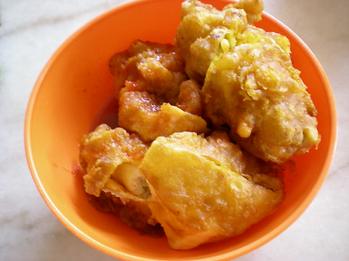 Mobile Indian hawker - cucur udang