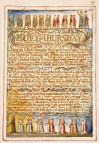 """William Blake's """"Holy Thursday"""""""