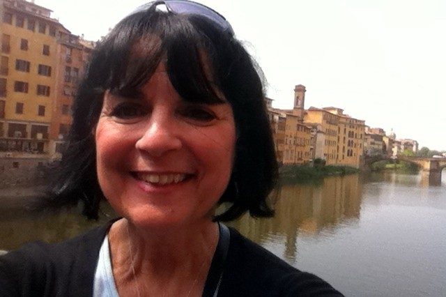 Near the Ponte Vecchio in Florence