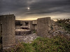 A Nazi Bunker under heavy clouds by neilalderney123