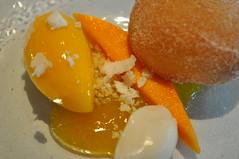 Pre-dessert detail