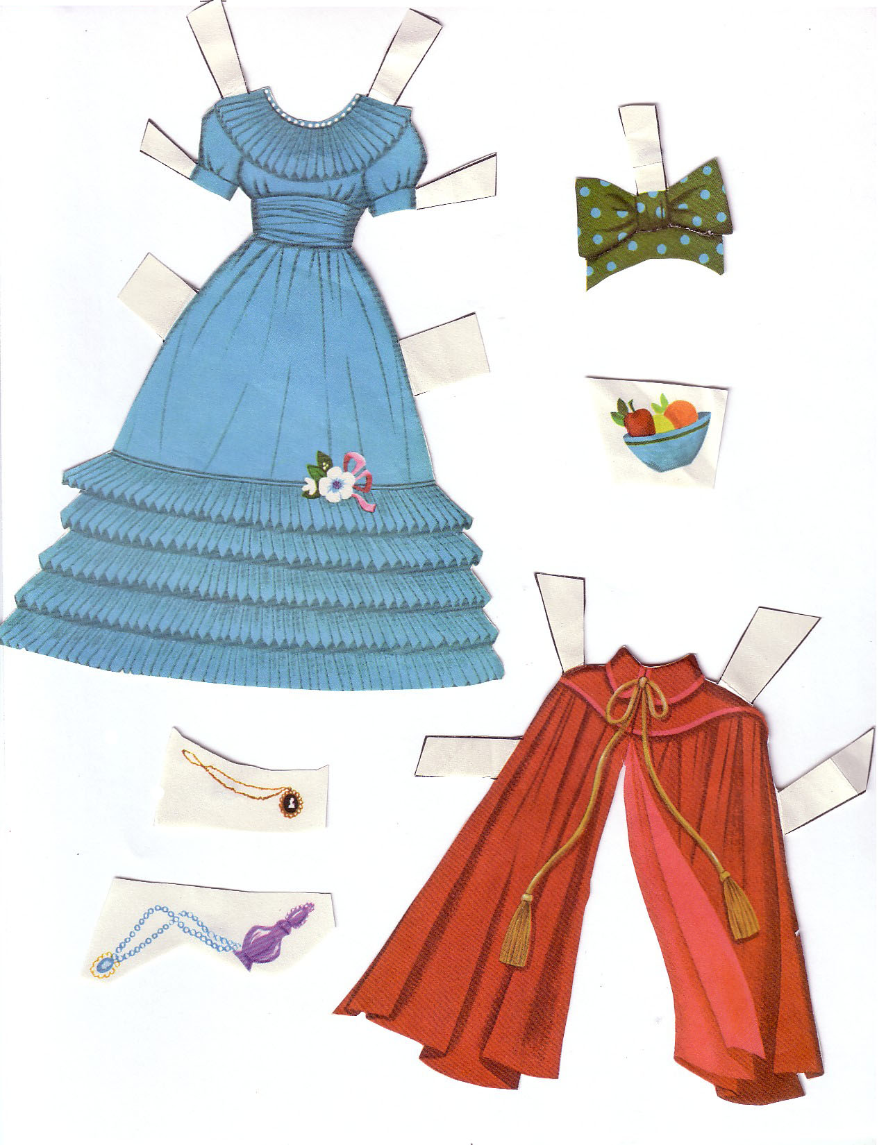 Hayley Mills - Summer Magic paper doll set (1963) 005