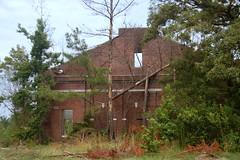 Jenkinsville School Auditorium Ruins