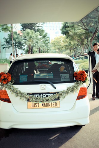 Bianca, our bridal car.