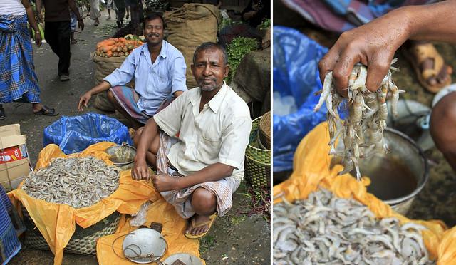 shrimp vendor