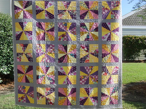 Finished Rain or Shine Quilt!