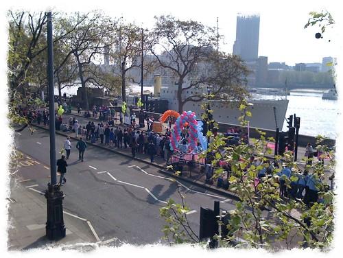 London Marathon, April 2011