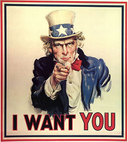 Edited Uncle Sam I want you