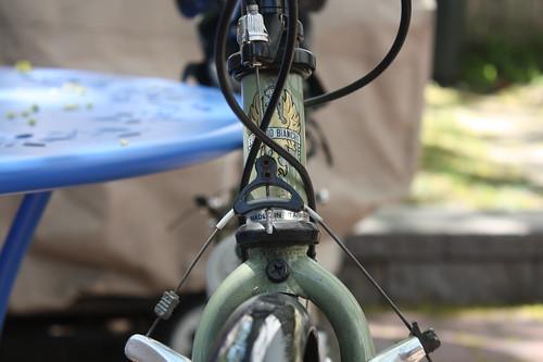 bike head on