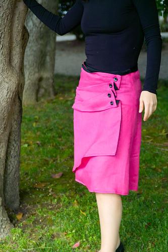 Asymmetrical Skirt by Martha McQuade