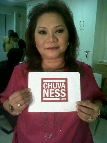 Mother of Showbiz Chika - Christy Fermin