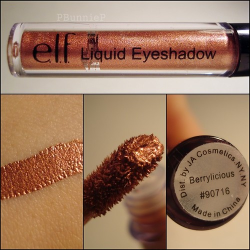 ELF Liquid Eyeshadow Berrylicious