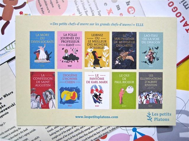 Les Petits Platons (materiale pubblicitario) (BCBF 2011)