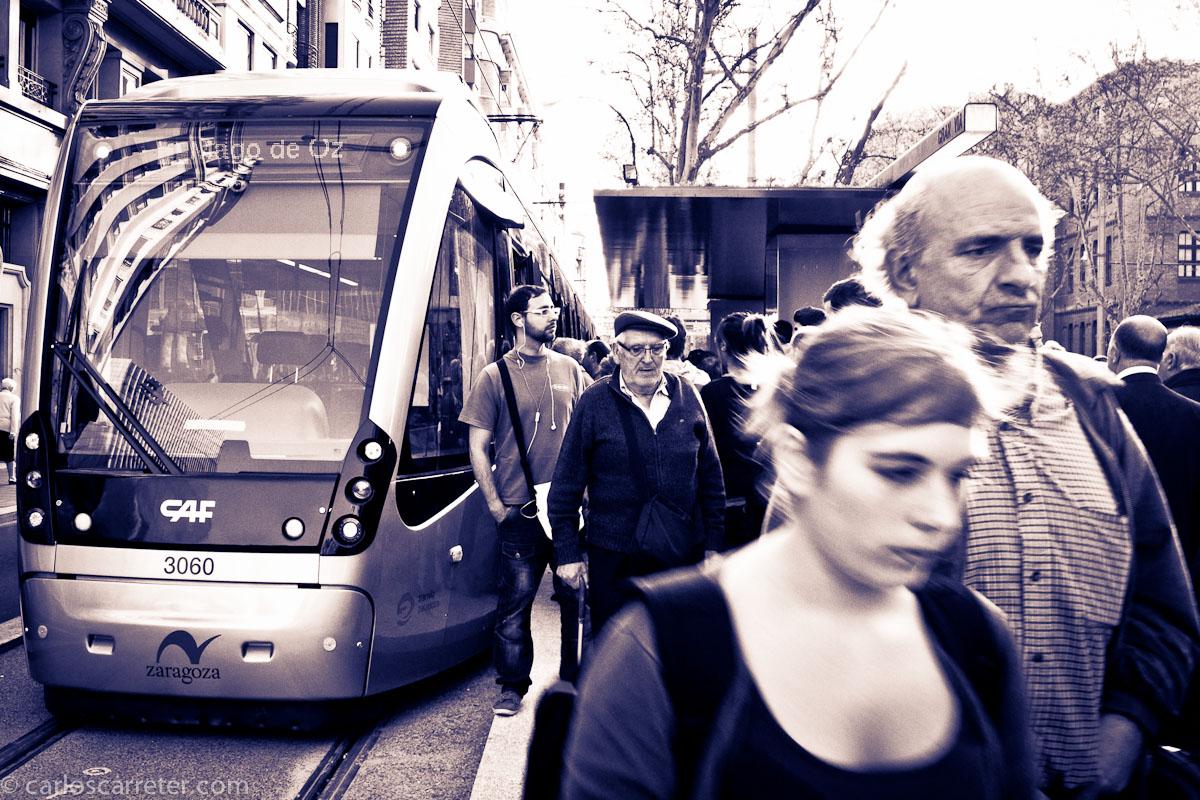 El primer tranvía