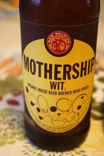 New Belgium Mothership Wit