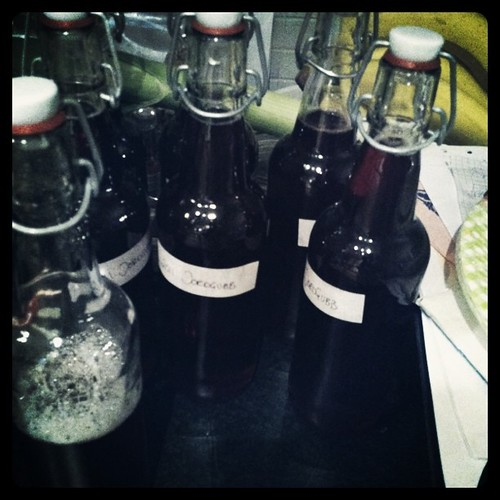 Made strawberry syrup/cordial tonight. 3.25 litres. Yummy.